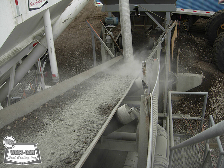 Portable Cement Mills : Pugmill produced cold mix west can seal coating inc