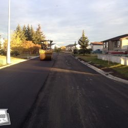 Completed subdivision