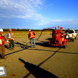 Airport crack seal is used as a maintenance tool to protect a runways investment