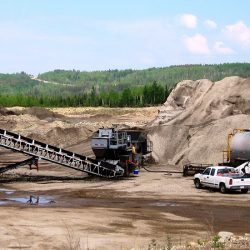 West-Can is capable of putting up large piles of blending product for our private and public customers