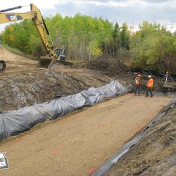 Preparing for culvert