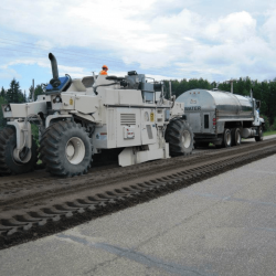 Surface Mixing and Pulverizing