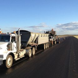 Due to our large presence in the Western Canadian road maintenance market, we are able to offer a variety of micro-surfacing units to suit our customer needs. Our current equipment line includes a continuous unit as seen, tandem mounted units for urban areas and trailer units for highway applications.