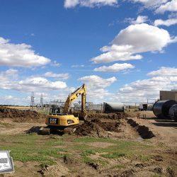 Site construction in the Alberta Industrial Heartland