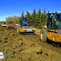 Lease road construction