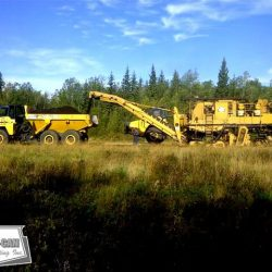 Reclaiming a private runway in Northern Alberta that will be mined for its resources