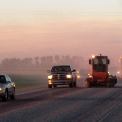 Having multiple booms allows for efficient roadway cleanup, minimizing user delay.