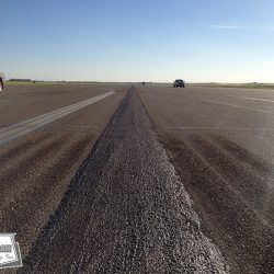 Microfill is an economical way to seal centerline failure and protect the base from moisture