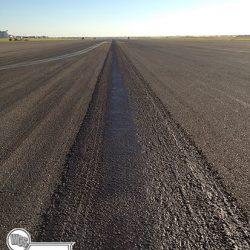 International airport crack repair