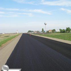 25 kilometers of rut fill and top coat