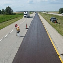 Overlay on the Trans Canada Highway
