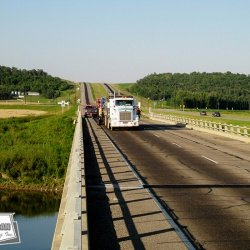Micro-Surfacing can be used to add skid resistance to bridges