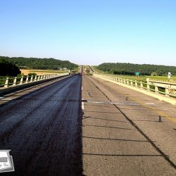 Using micro-surfacing on bridge decks adds years of life to the structure and increases safety