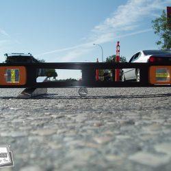 Road rutting prior to micro-surfacing