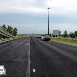 Major artery prior to line painting