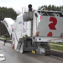 Milling can be used to correct minor rutting or fatigued asphalt surfaces