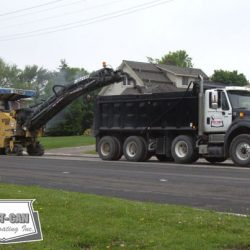 Partial milling allows for the removal of the failed surface asphalt only
