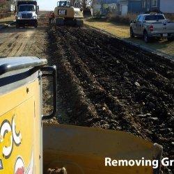 Removing Gravel
