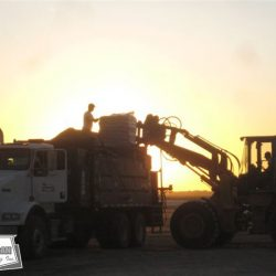 From sunrise to sunset our crews work long hours to minimize construction time and satisfy our customer needs.